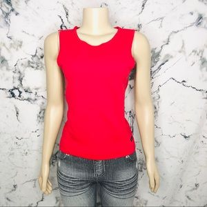 ❤️3/$25❤️ Champion Red Tank Top Women Size M/L
